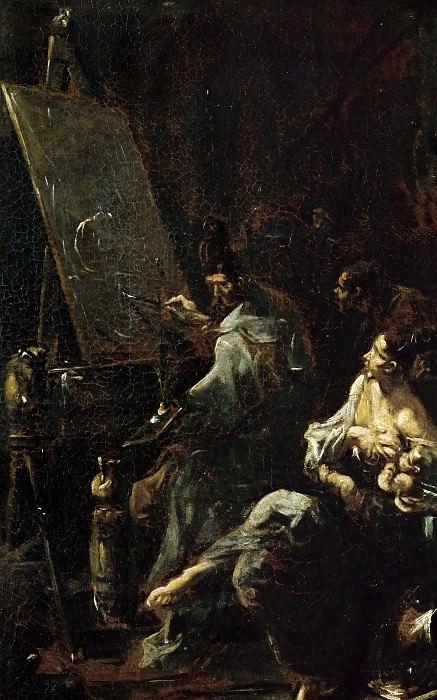 Маньяско, Алессандро (прозв Лиссандрино) (Генуя 1667-1749) -- Мастерская художника. часть 5 Лувр