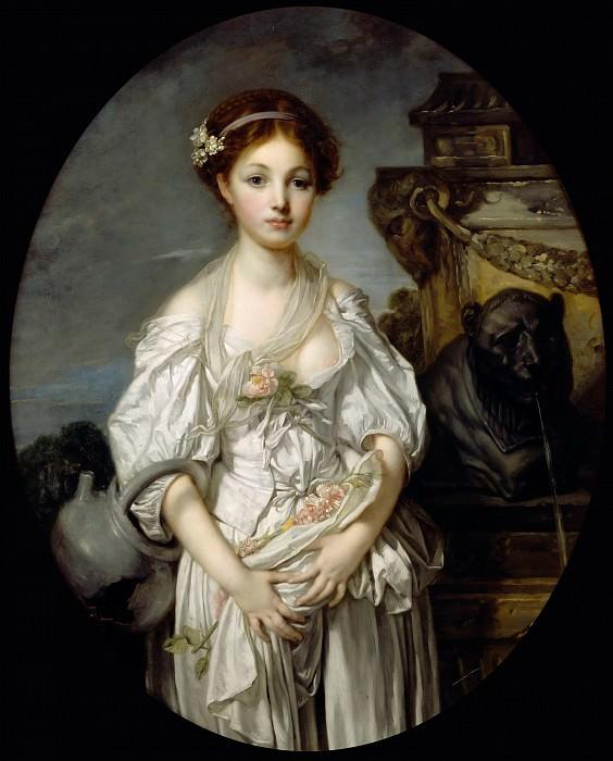 Jean-Baptiste Greuze -- The Broken Pitcher (La Cruche cassée). Part 5 Louvre