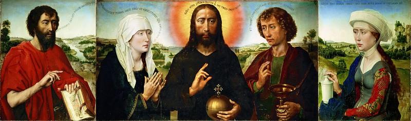 Вейден, Рогир ван дер (Роже де ла Патюр) (1400 Турне - 1464 Брюссель) -- Алтарь Брак. Part 5 Louvre