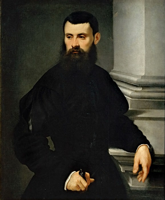 Attributed to Jacopo Tintoretto -- Portrait of a Gentleman. Part 5 Louvre