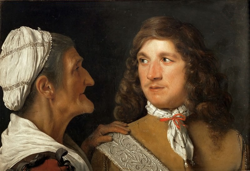 Michael Sweerts -- The jGentleman and the Procuress. Part 5 Louvre