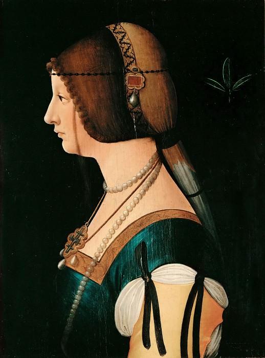 Bernardino de' Conti -- Bianca Maria Sforza. Part 5 Louvre