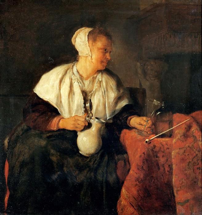 Метсю, Габриель (1629 Лейден - 1667 Амстердам) -- Выпивоха. Part 5 Louvre