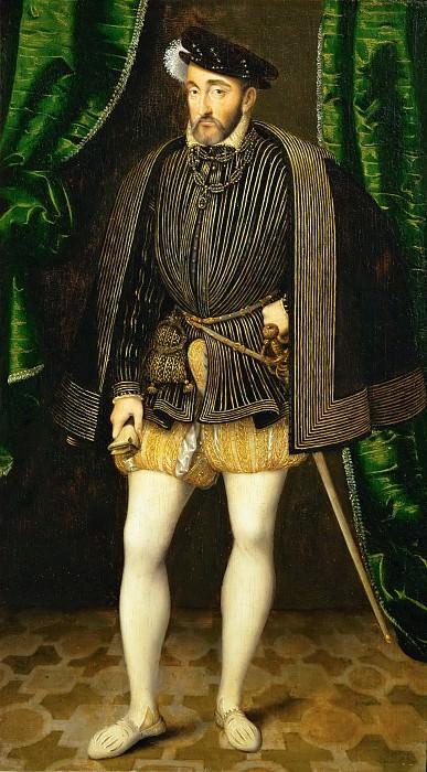 François Clouet -- Henry II. Part 5 Louvre