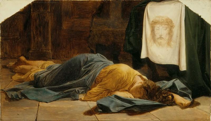 Деларош, Поль (Париж 1797-1859) -- Святая Вероника. часть 5 Лувр