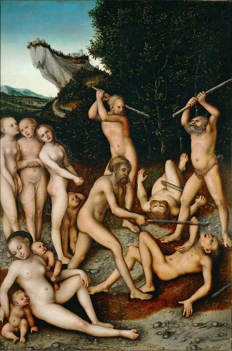 Кранах, Лукас I (1472 Кронах - 1553 Веймар) -- Серебряный век. часть 5 Лувр