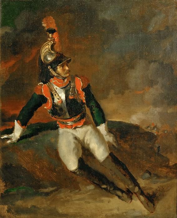 Жерико, Теодор (1791 Руан - 1824 Париж) -- Раненый кирасир. часть 5 Лувр