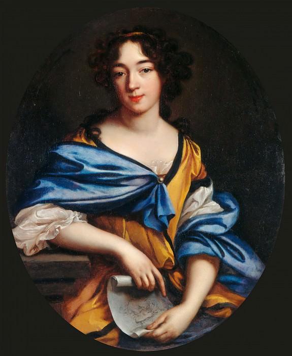Elisabeth Sophie Chéron -- Self Portrait. Part 5 Louvre