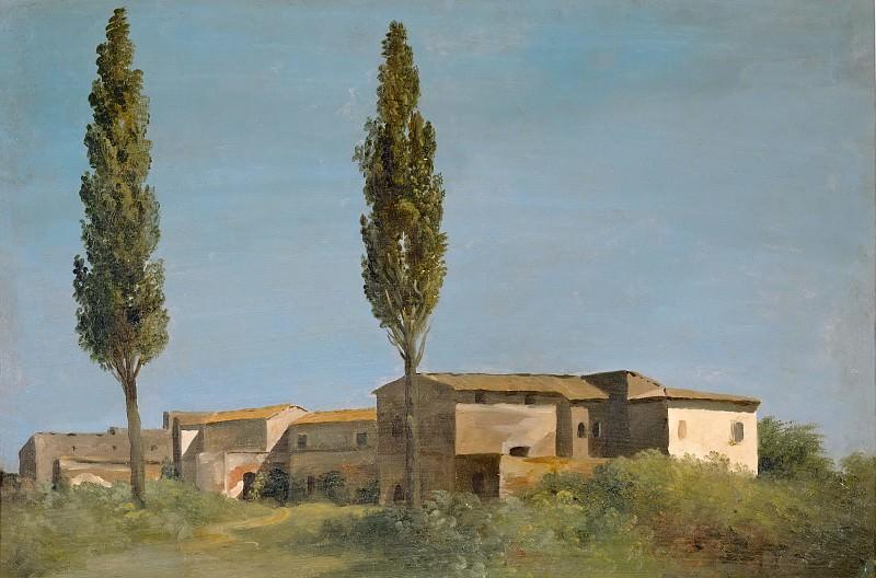Валансьенн, Пьер-Анри де (1750 Тулуза - 1819 Париж) -- На вилле Фарнезе - два тополя. часть 5 Лувр