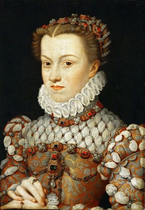 François Clouet -- Elisabeth of Austria. Part 5 Louvre