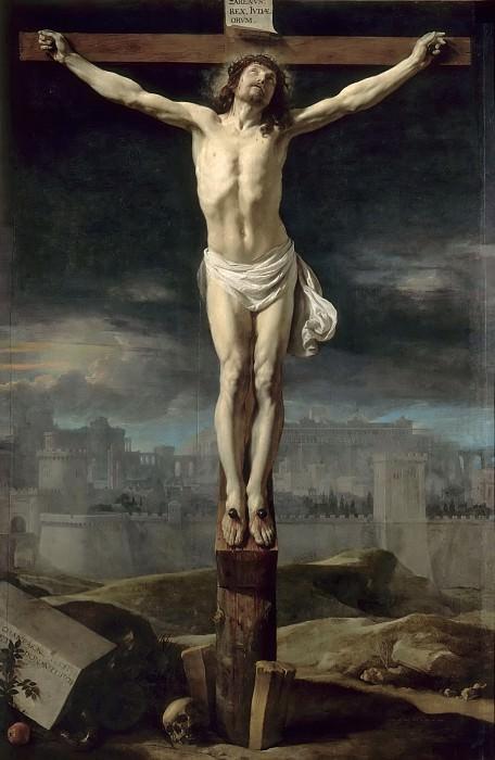 Philippe de Champaigne -- Christ on the Cross. Part 5 Louvre