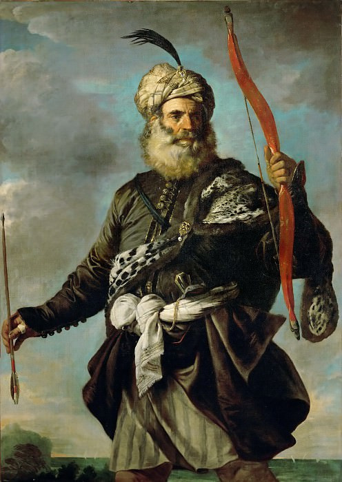 Pier Francesco Mola -- Oriental Warrior (Barbary Pirate). Part 5 Louvre