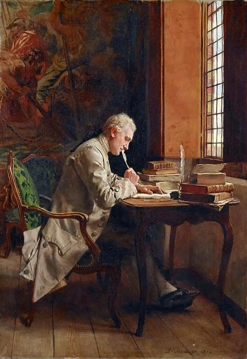 Jean Louis Ernest Meissonier -- A poet. Part 5 Louvre