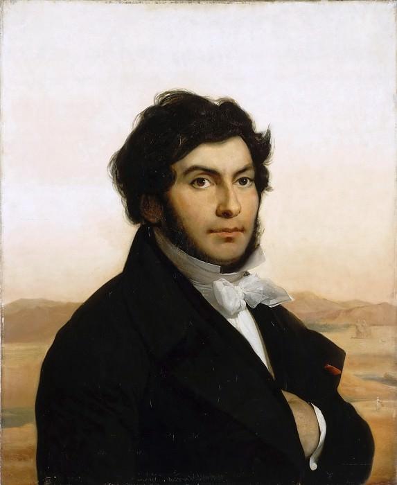 Léon Cogniet -- Portrait of Jean-François Champollion, Egyptologist. Part 5 Louvre
