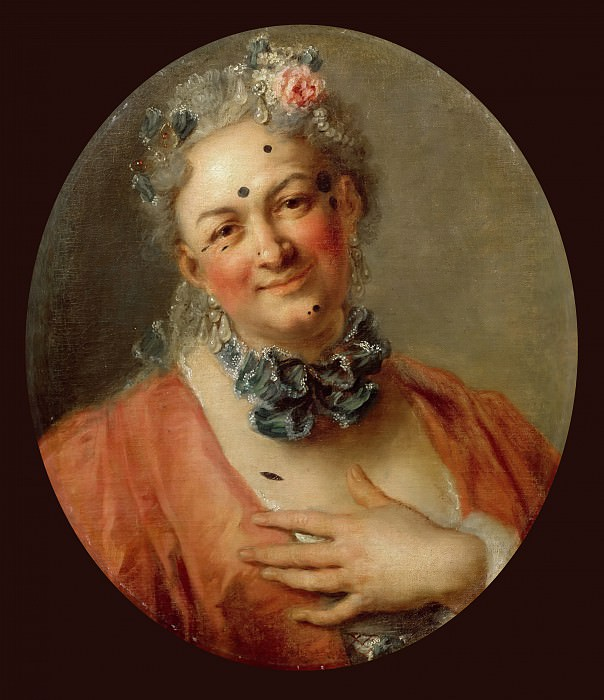 Charles-Antoine Coypel -- The chanteur Pierre Jelyotte. Part 5 Louvre