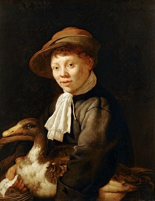 Jacob Gerritsz. Cuyp -- Boy with Duck. Part 5 Louvre