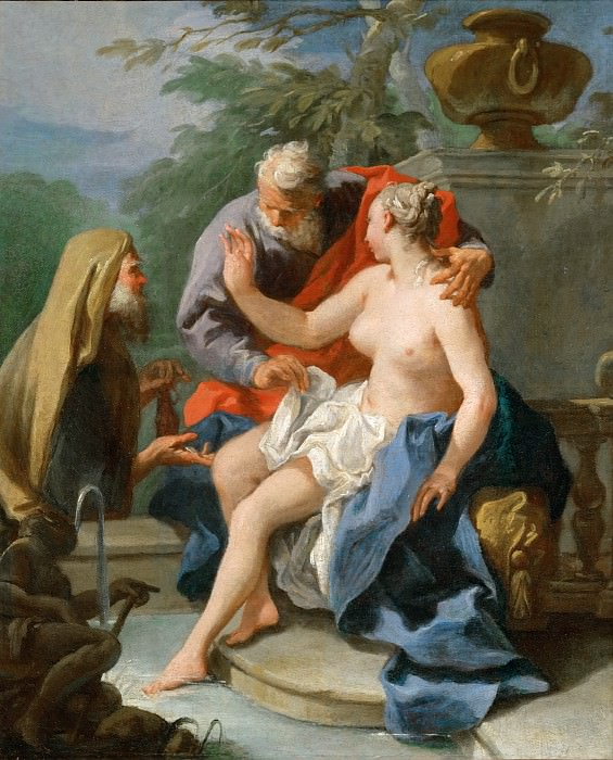 Питтони, Джованни Баттиста (Венеция 1687-1767) -- Сусанна и старцы. часть 5 Лувр