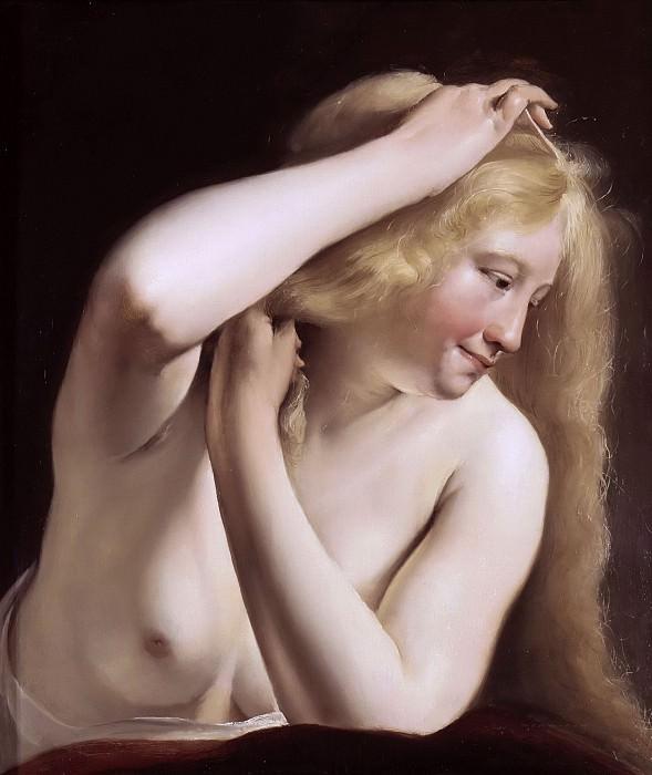 Брай, Соломон де (1597 Амстердам - 1664 Харлем) -- Обнаженная девушка, 1635. часть 5 Лувр