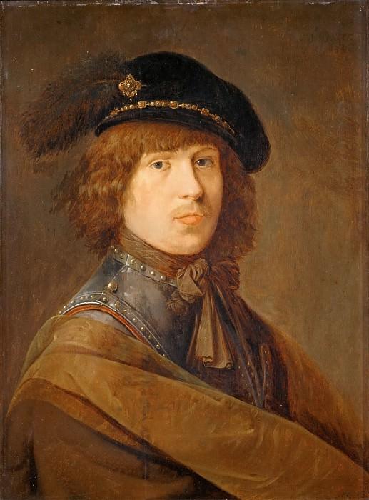 Pieter de Potter (c. 1597-1652) -- Self-Portrait in a Cuirass. Part 5 Louvre