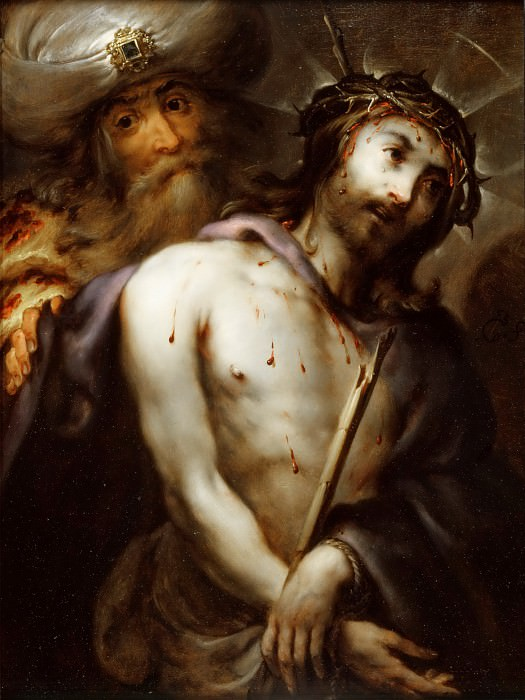 Коссьер, Ян (Антверпен 1606-1671) -- Се Человек. часть 5 Лувр
