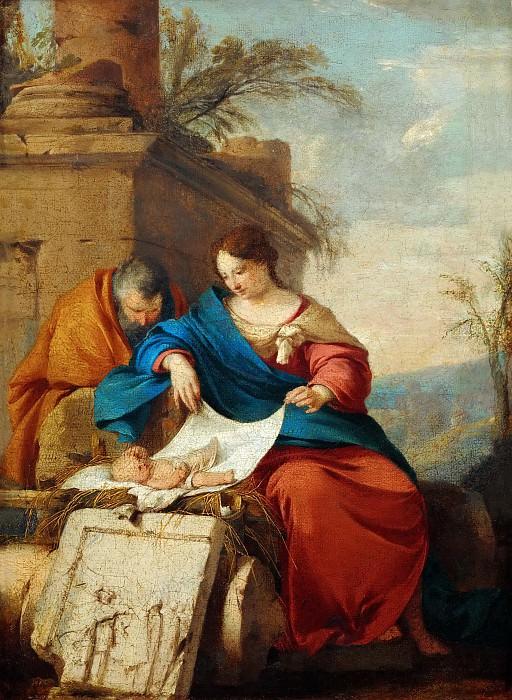 Laurent de La Hyre (1606-1656) -- Rest on the Flight into Egypt. Part 5 Louvre