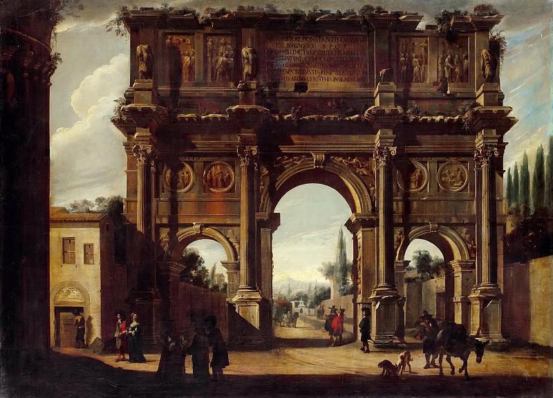 Кодацци, Вивиано (1604 Бергамо - 1670 Рим) -- Арка Константина. Part 5 Louvre
