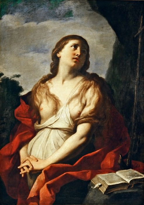 Annibale Carracci (1560-1609) -- Mary Magdalene. Part 5 Louvre