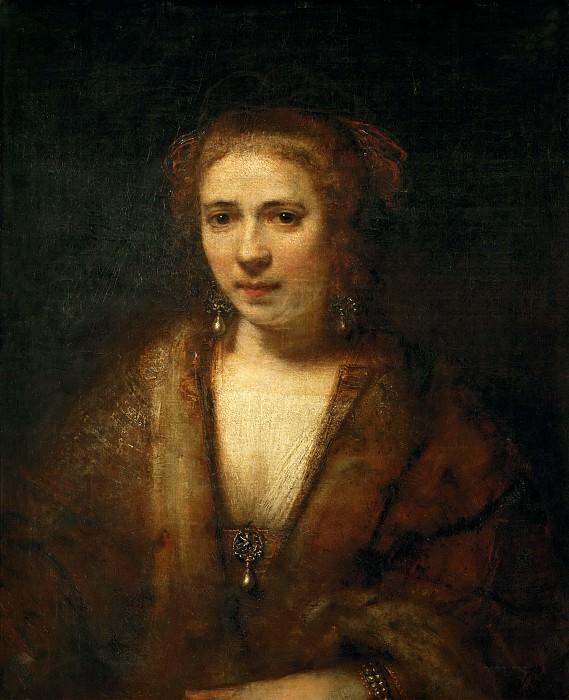 Rembrandt van Rijn -- Hendrickje Stoffels. Part 5 Louvre