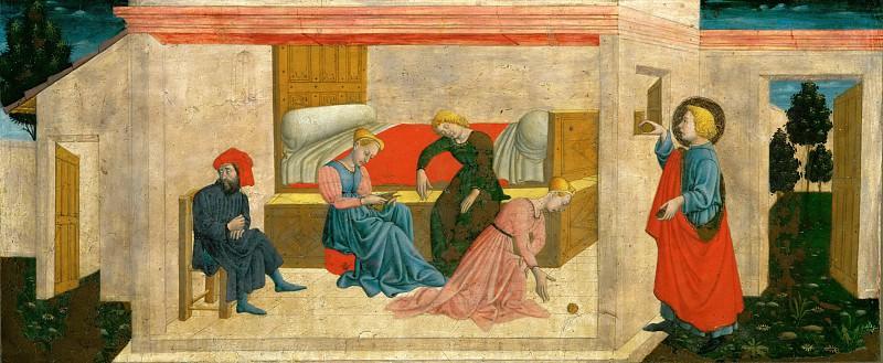 Джованни Франческо да Римини (1420 Римини - 1470 Болонья) -- Благодеяние Николая Чудотворца. часть 5 Лувр