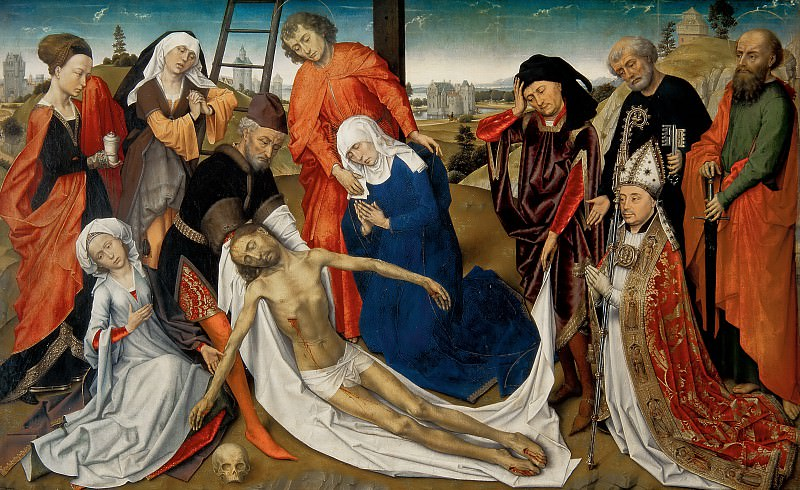 Unknown - The Lamentation of Christ. Mauritshuis