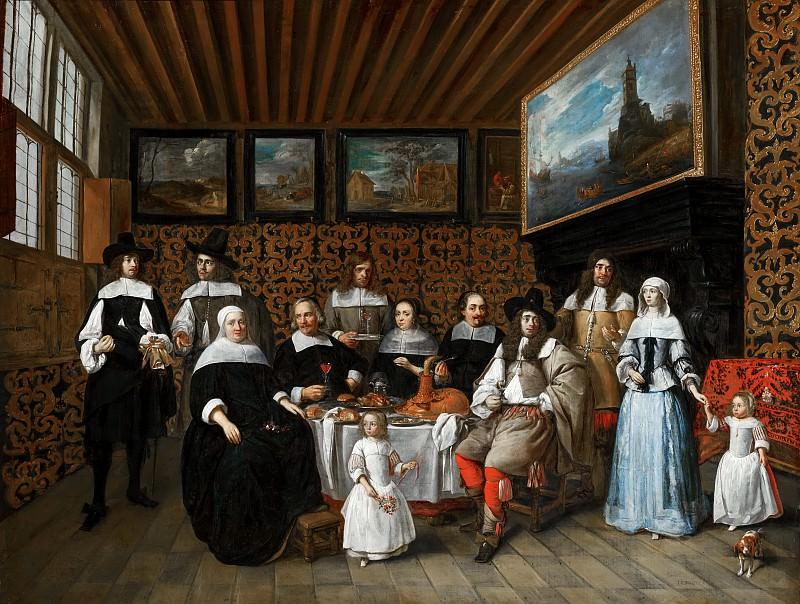 Тильборг, Гиллис ван - Семейный портрет. Маурицхёйс