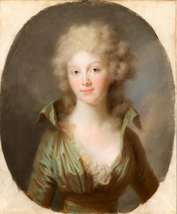 Johann Friedrich August Tischbein - Portrait of Frederika Louise Wilhelmina of Prussia (1774-1837). Mauritshuis