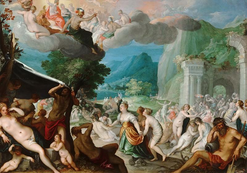 Hans Rottenhammer - The Fall of Phaeton. Mauritshuis