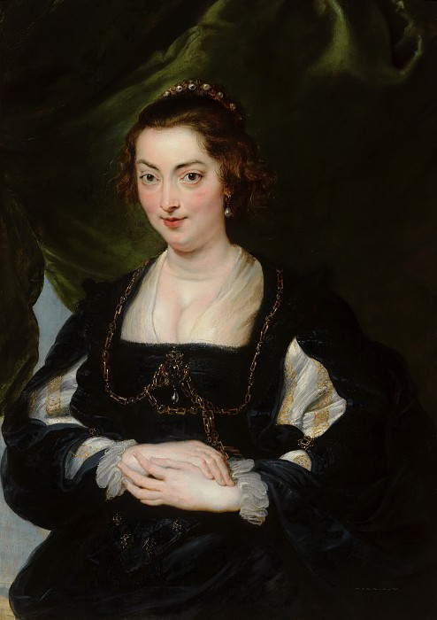 Peter Paul Rubens (and studio) - Portrait of a Young Woman. Mauritshuis