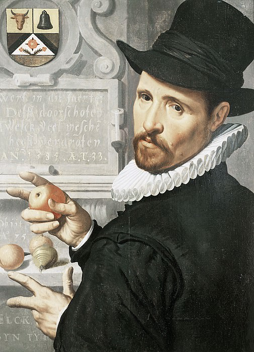 Pieter Pietersz - Portrait of Cornelis Cornelisz Schellinger (1551-1635). Mauritshuis