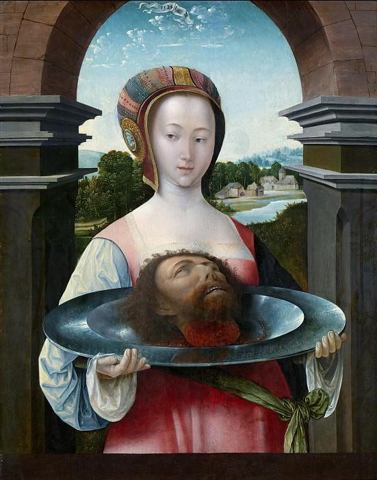 Остзанен, Якоб Корнелис ван - Саломея с головой Иоанна Крестителя. Маурицхёйс