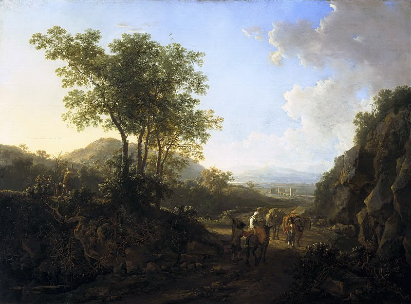 Jan Both - Italian Landscape. Mauritshuis