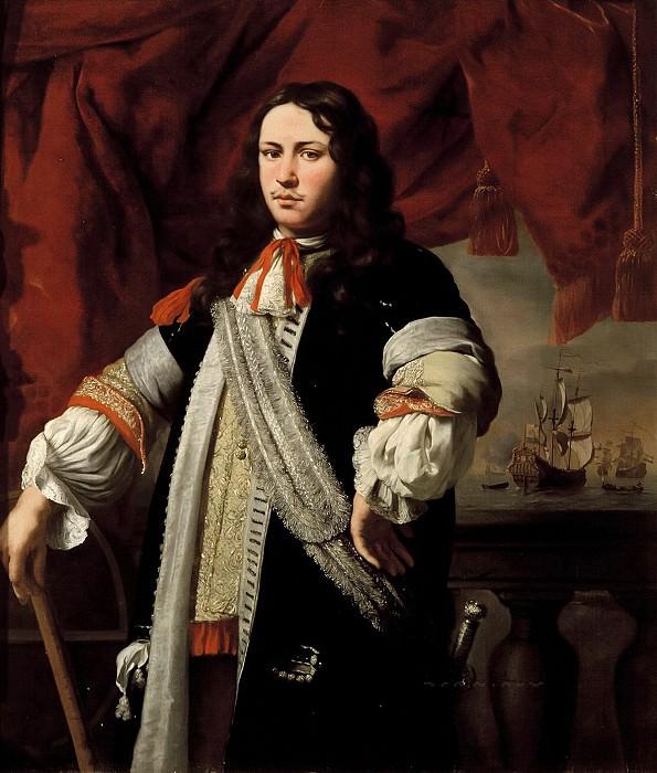 Ferdinand Bol - Portrait of Engel de Ruyter (1649-1683). Mauritshuis