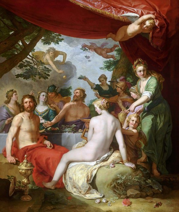 Abraham Bloemaert - The Feast of the Gods at the Wedding of Peleus and Thetis. Mauritshuis