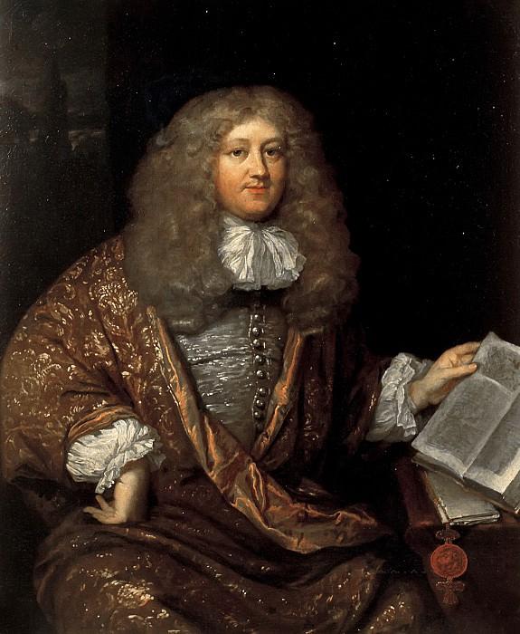 Caspar Netscher (studio of) - Portrait of Michiel ten Hove (1640-1689). Mauritshuis