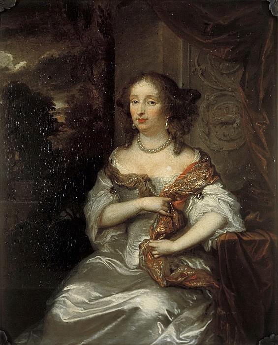 Нетшер, Каспар - Портрет Елизаветы ван Беббер (1643-1704). Маурицхёйс