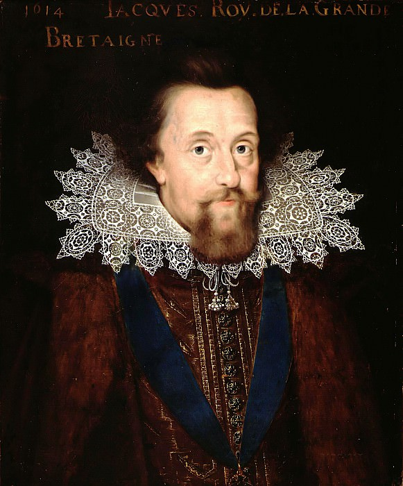 Anonymous (Northern Netherlands) - Portrait of James I (1566-1625), King of England. Mauritshuis