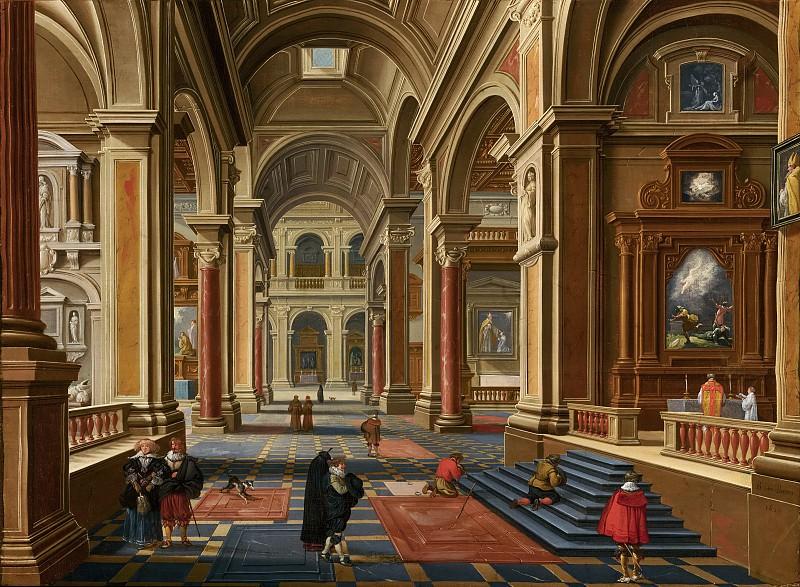 Bartholomeus van Bassen - Interior of a Catholic Church. Mauritshuis