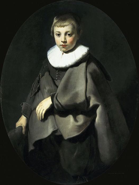 Jacob Adriaensz Backer - Portrait of a Boy in Grey. Mauritshuis