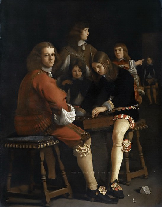 Michael Sweerts - Draughts Players. Mauritshuis