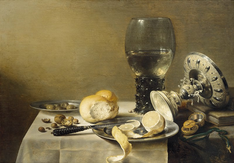 Pieter Claesz - Still Life with Tazza. Mauritshuis