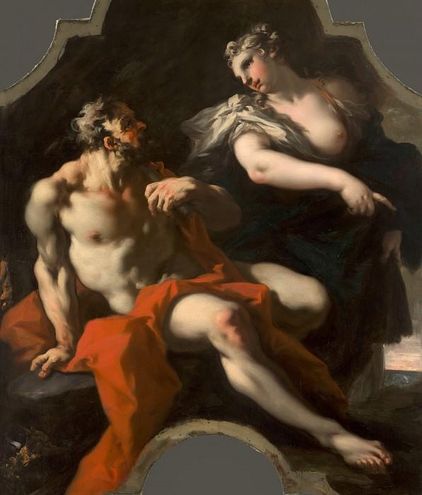 Giovanni Antonio Pellegrini - Mythological or Allegorical Representation. Mauritshuis