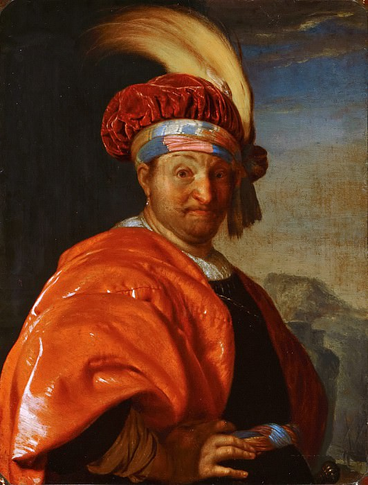 Frans van Mieris the Elder - Man in Oriental Dress. Mauritshuis