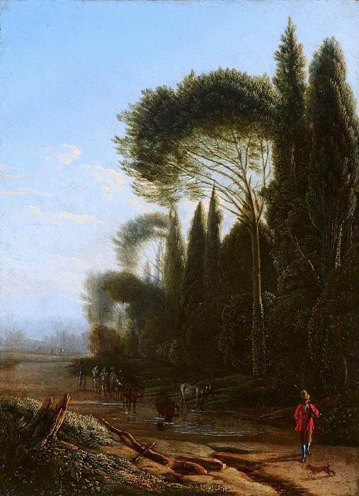 Jan Willemsz Lapp - Italianate Landscape. Mauritshuis
