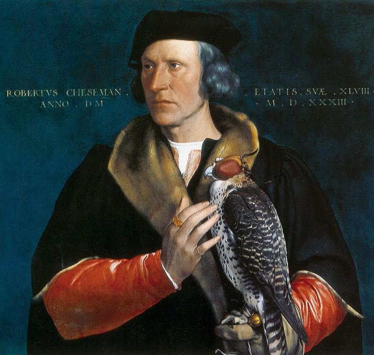 Гольбейн, Ганс II - Портрет Роберта Чизмена (1485-1547). Маурицхёйс